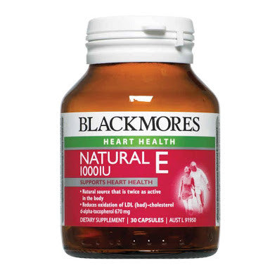 Blackmores Natural Vitamin E 1000IU