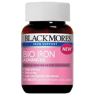 Blackmores Bio Iron Advanced 30 Tablets