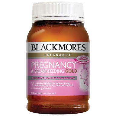 Blackmores Pregnancy & Breastfeeding Gold