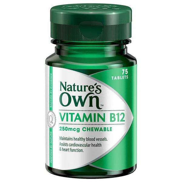 Nature's Own Vitamin B12 250mcg 75 Tablets