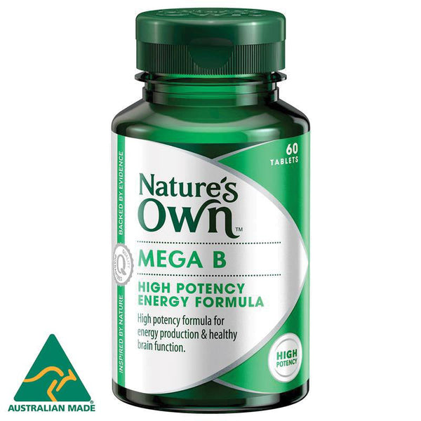 Nature's Own Mega B 150mg 60 Tablets