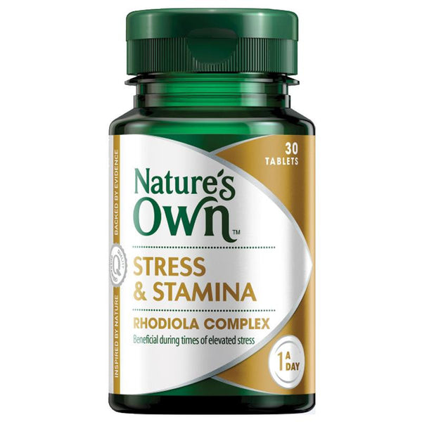 Nature's Own Stress & Stamina 30 Tablets
