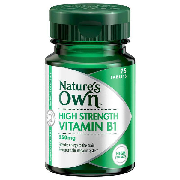 Nature's Own Vitamin B1 250mg 75 Tablets