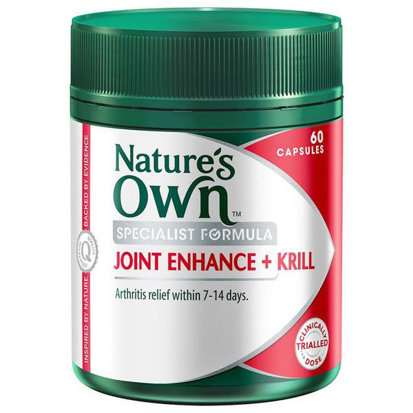 Nature's Own Joint Enhance Plus Krill 60 Tablets