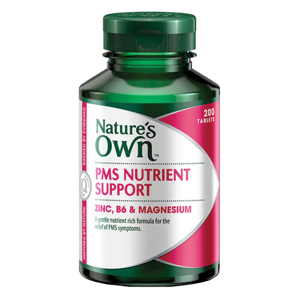 Nature's Own PMS Nutrients Support 200 Tablets