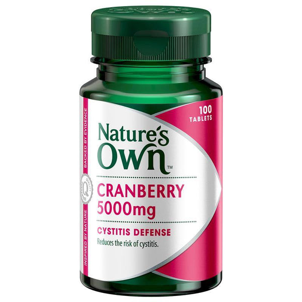 Nature's Own Cranberry 5000mg 100 Tablets