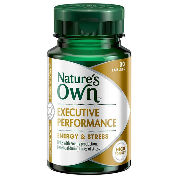 Nature's Own Executive Performance Energy 30 Tablets