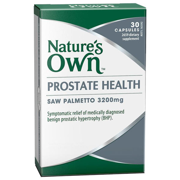 Nature's Own Prostate Health 30 Capsules