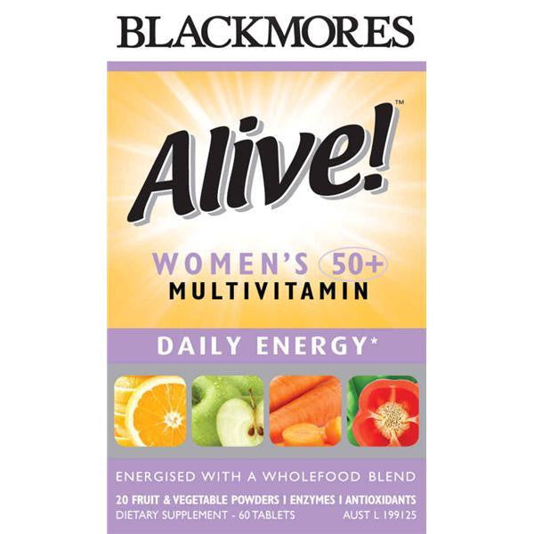 Blackmores Alive Women 50+ Multi 60 tablets