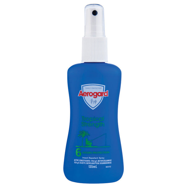 Aerogard Odourless Insect Repellant 135ml Pump Spray