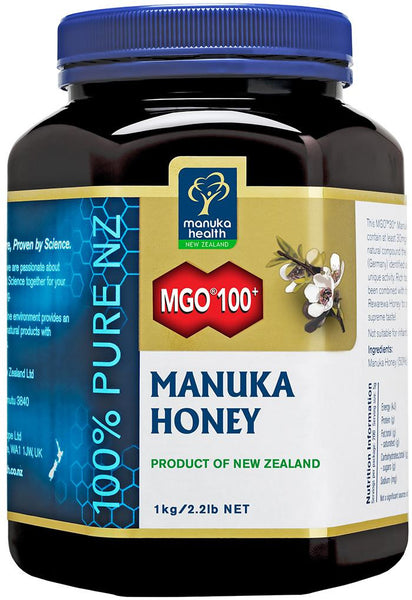 Manuka Health New Zealand Manuka Honey MGO100+ 1kg