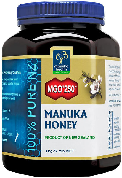 Manuka Health New Zealand Manuka Honey MGO250+ 1kg