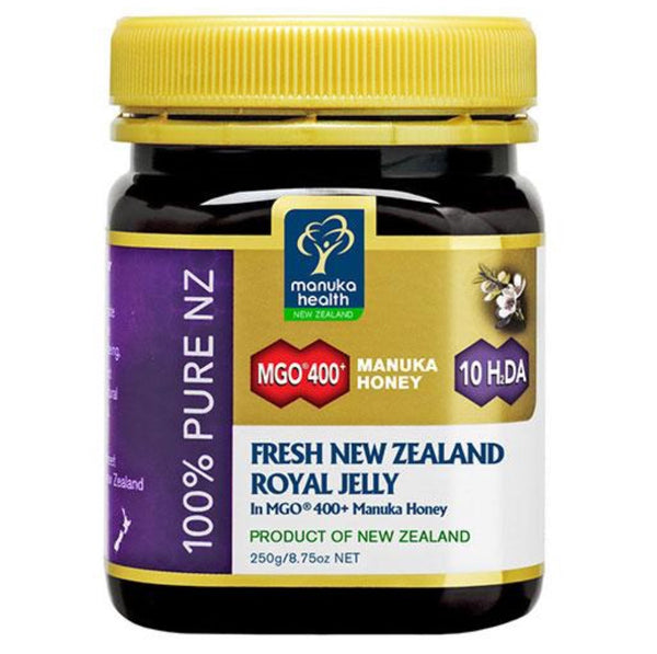 Manuka Health Fresh Royal Jelly in MGO 400 Manuka Honey 250gr