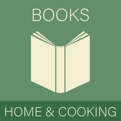 Home and cooking books at Sage Garden