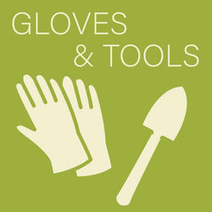 Gloves and Tools at Sage Garden