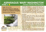 Asparagus 'Mary Washington' (Live Plant)