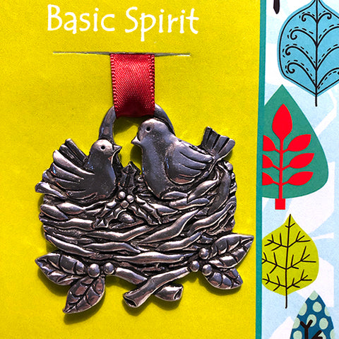 Basic Spirit Giving Ornament - Bird's Nest (Plant a Tree)