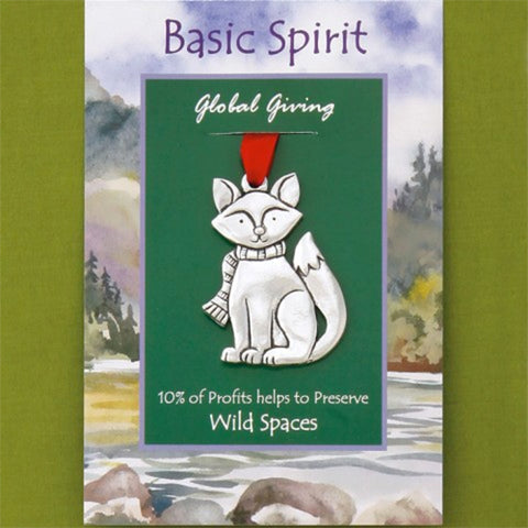 Basic Spirit Giving Ornament - Fox