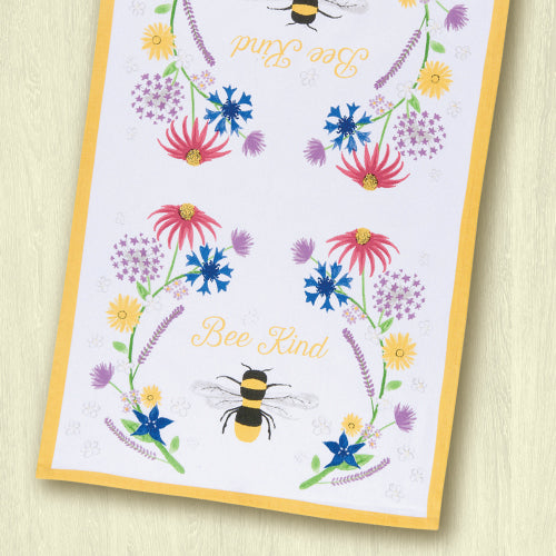 Bee Kind Cotton Dish Towel