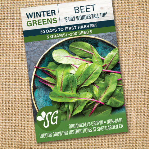 Organic Beet, Early Wonder - 5g