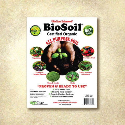 BioSoil Certified Organic All-Purpose Soil