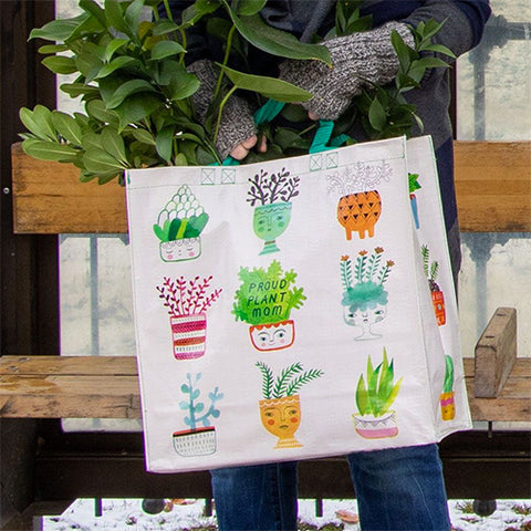 Blue Q Recycled Shopper Bag - Proud Plant Mom