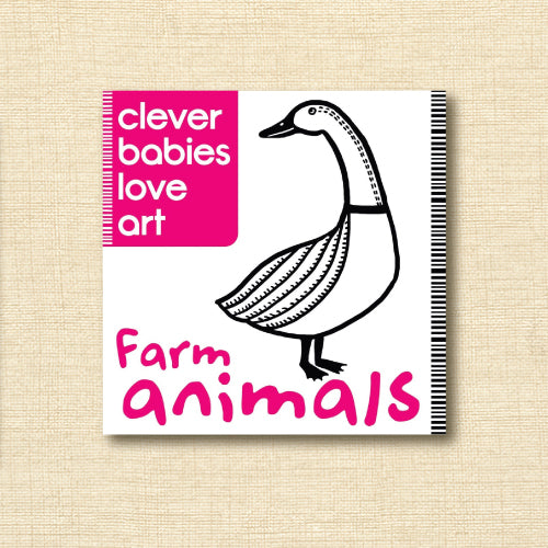 Clever Babies Love Art - Farm Animals
