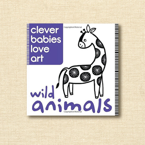 Clever Babies Love Art - Wild Animals