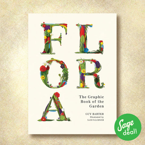 Flora - The Graphic Book of the Garden (Discount Book)