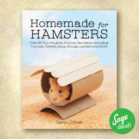 Homemade for Hamsters: Over 20 Fun Projects Anyone Can Make, Including Tunnels, Towers, Dens, Swings, Ladders and More (Discount Book)