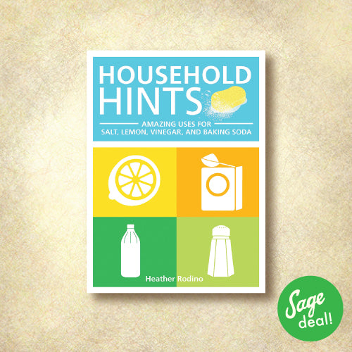Household Hints - Amazing Uses for Salt, Lemon, Vinegar, and Baking Soda
