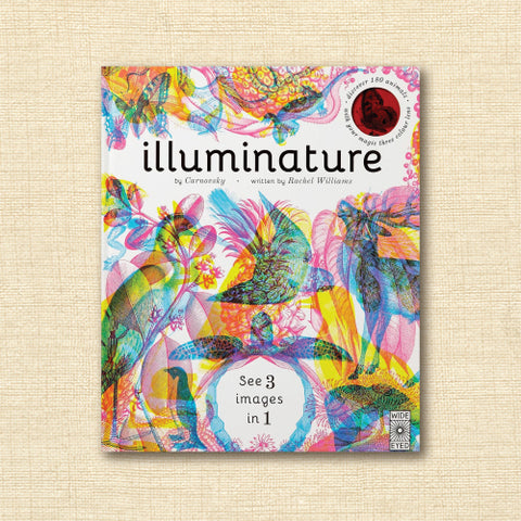 Iluminature: Discover 180 animals with your magic three color lens