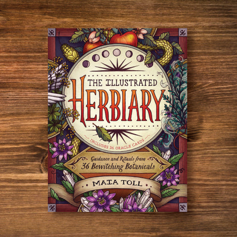 The Illustrated Herbiary - Guidance and Rituals from 36 Bewitching Botanicals