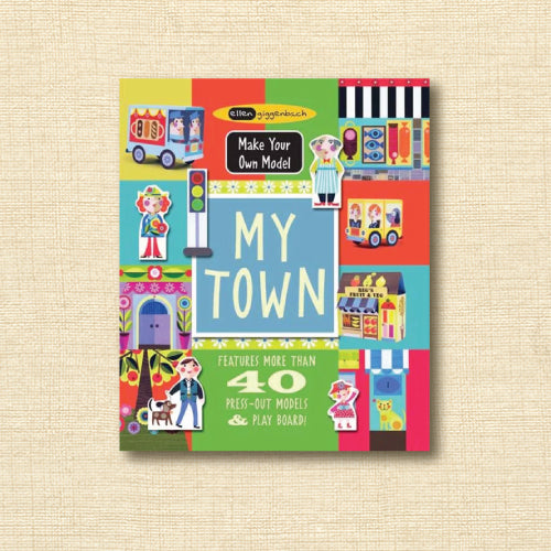 My Town - Features More Than 40 Press-Out Models & Play Board!