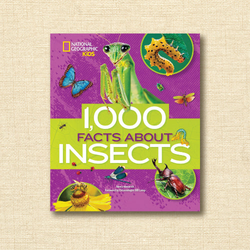 National Geographic Kids - 1000 Facts about Insects