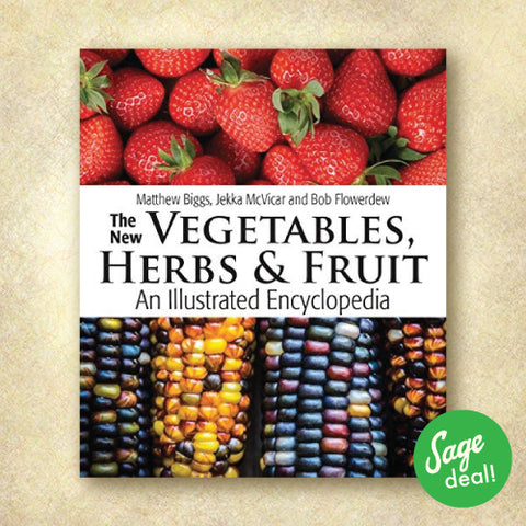 The New Vegetables, Herbs and Fruit: An Illustrated Encyclopedia  (Discount Book)