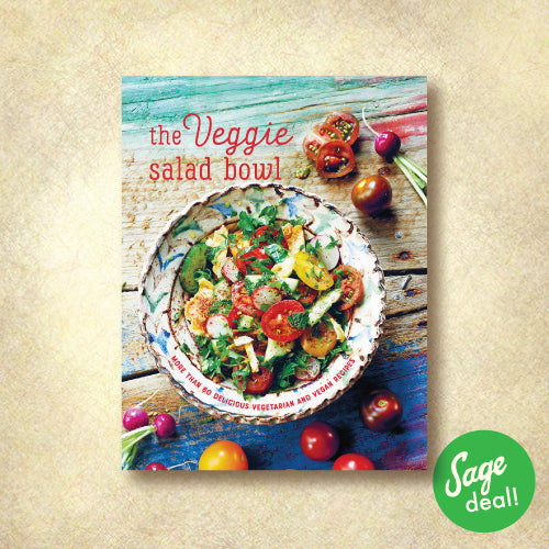 The Veggie Salad Bowl - More Than 60 Delicious Vegetarian and Vegan Recipes