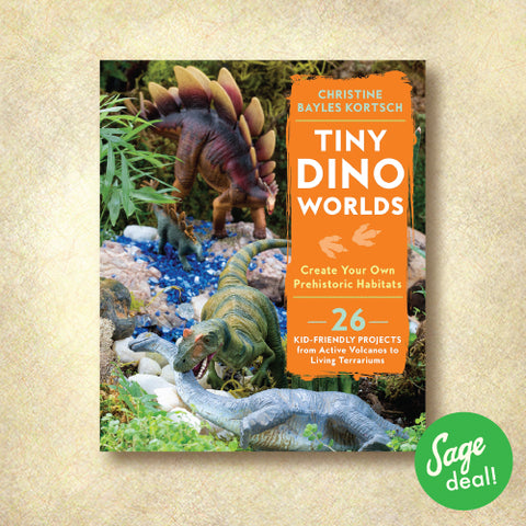 Tiny Dino Worlds: Create Your Own Prehistoric Habitats