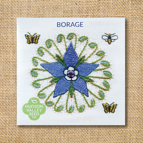 Seeds - Art Pack - Borage (Organic)