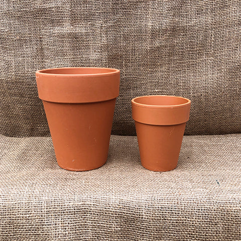Terracotta Clay Pot - Tall Standard