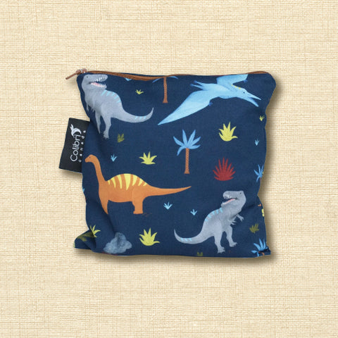 Reusable Snack Bag - Dinosaurs - Large