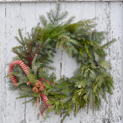 Holiday D.I.Y. Wreath at Sage Garden