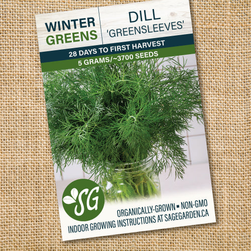 Organic Dill, Greensleeves - 5g