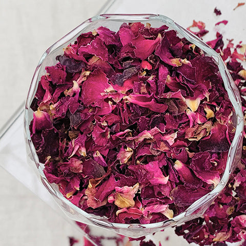 Botanicals - Rose Petals - Organically Grown - Dried