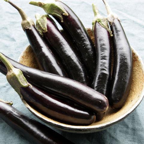 Organic Little Finger Eggplant
