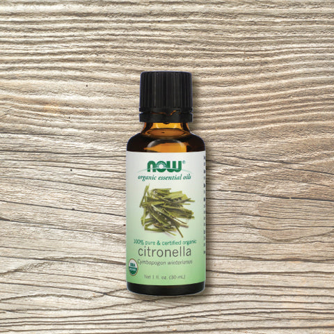Organic Essential Oil - Now™ Citronella 30ml