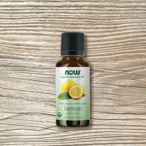Organic Essential Oil - Now™ Lemon 30ml