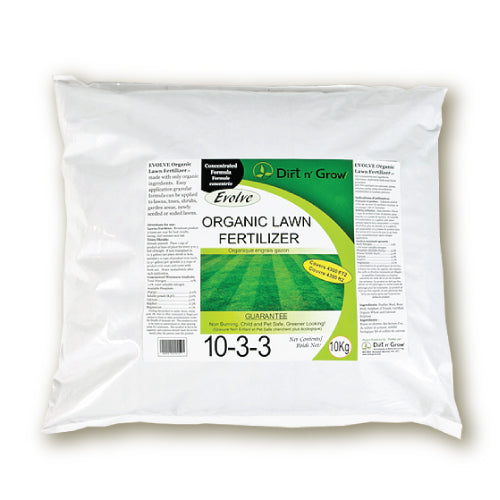 Evolve Lawn Fertilizer 10kg Bag