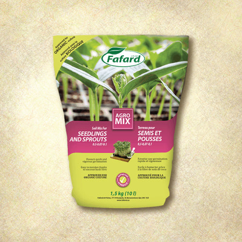 Organic Seedling and Sprouting Seed Soil - Fafard 10L