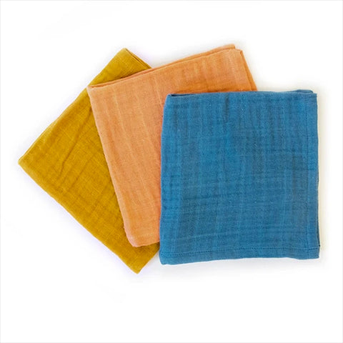 Dish Cloths - Full Circle Kind Plant-Dyed Organic Cotton - Set of 3